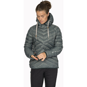 Varg Älgön Downhood Anorak Women balsam green